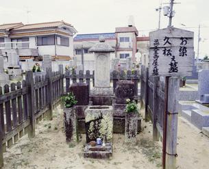 お染久松の墓 野中寺の写真素材 [FYI03974083]