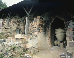 大谷焼窯元 大西陶器の写真素材 [FYI03974128]