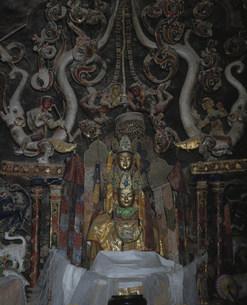 アルチ・ゴンパ仏壇の写真素材 [FYI03974428]