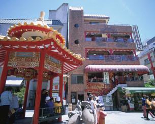 南京町の写真素材 [FYI03974477]