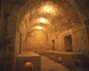 アレッポ城内浴室の写真素材 [FYI03974534]