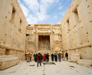 パルミラ遺跡 ベル神殿の写真素材 [FYI03974542]