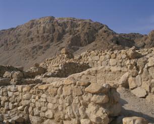 クムラン死海本発見地遺跡の写真素材 [FYI03974675]