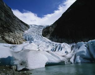 ブリクスダール氷河の写真素材 [FYI03974711]