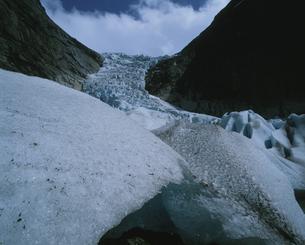 ブリクスダール氷河の写真素材 [FYI03974721]