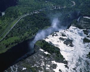 空からのビクトリアの滝の写真素材 [FYI03974739]