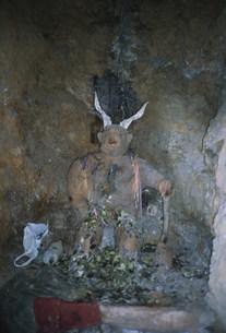 鉱山富の山の守り神の写真素材 [FYI03975004]
