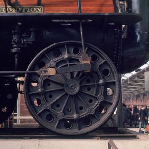 世界最初の機関車 1825年の写真素材 [FYI03975471]