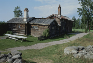 グスタフアンカルクローナの旧宅 スウェーデンの写真素材 [FYI03975814]