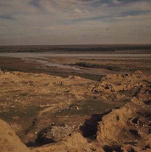 アッシュル遺跡 チグリス流域 イラクの写真素材 [FYI03975820]