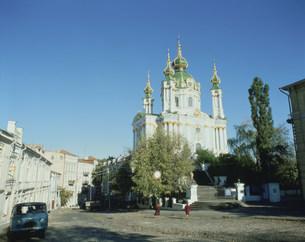 アンデレフスカヤ教会の写真素材 [FYI03975824]
