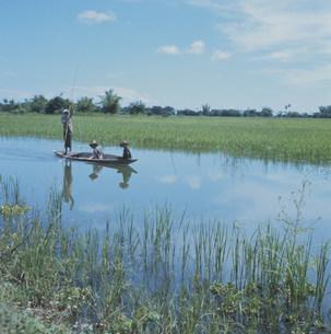 ラジャブリー村 タイの写真素材 [FYI03975825]