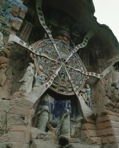 六道輪廻図(宝頂山の石刻)の写真素材 [FYI03975829]