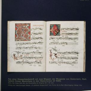 ミサ曲(四部合唱)の楽譜の写真素材 [FYI03975908]