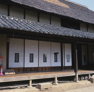 旧山崎家住宅 埼玉古墳群の写真素材 [FYI03976182]