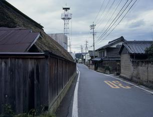 旧北国街道の町並の写真素材 [FYI03976273]