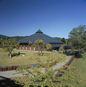 軽井沢大賀ホールの写真素材 [FYI03976476]