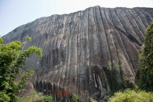 天遊峰の晒布岩の写真素材 [FYI03977538]