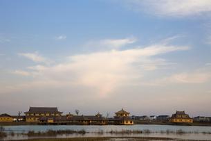 陽澄湖の蟹レストランの写真素材 [FYI03977754]