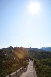 万里の長城の金山嶺長城の写真素材 [FYI03977813]