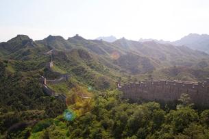 万里の長城の金山嶺長城の写真素材 [FYI03977827]