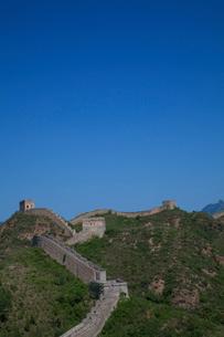 万里の長城の金山嶺長城の写真素材 [FYI03977828]