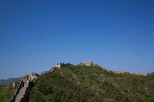 万里の長城の金山嶺長城の写真素材 [FYI03977832]