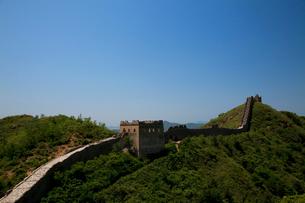 万里の長城の金山嶺長城の写真素材 [FYI03977840]