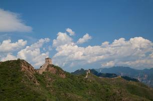 万里の長城の金山嶺長城の写真素材 [FYI03977865]