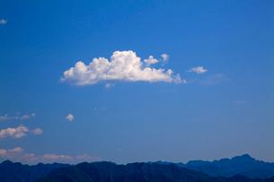 万里の長城の金山嶺長城から雲を望むの写真素材 [FYI03977868]