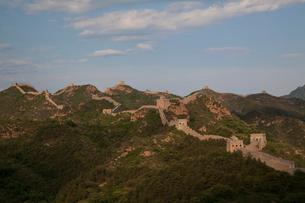 万里の長城の金山嶺長城の写真素材 [FYI03977876]