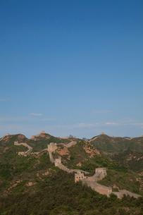 万里の長城の金山嶺長城の写真素材 [FYI03977877]
