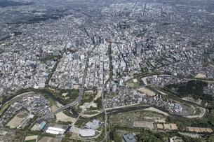 仙台市街地(青葉区から宮城野区)の写真素材 [FYI03978207]