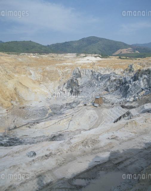 キンタ渓谷の錫の露天堀の写真素材 [FYI03978605]