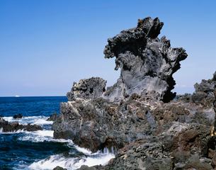 竜頭岩の写真素材 [FYI03978990]