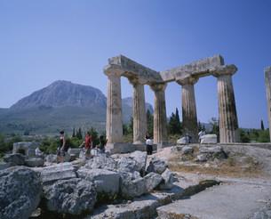 アポロン神殿の写真素材 [FYI03979041]