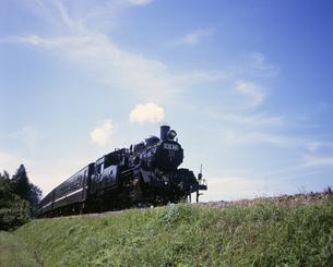 真岡鉄道SLの写真素材 [FYI03980555]