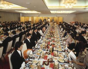 結婚披露宴会場の写真素材 [FYI03980588]