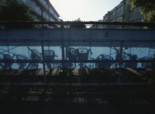 朝の団地の写真素材 [FYI03980616]