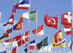 万国旗の写真素材 [FYI03981562]