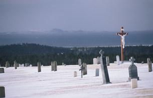 マドレーヌ島墓地の写真素材 [FYI03981610]