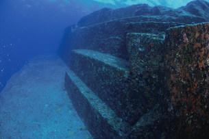 海底遺跡ポイントの写真素材 [FYI03981798]