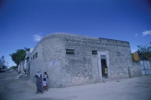 マーレ市街 民家 モルディブ共和国の写真素材 [FYI03981864]