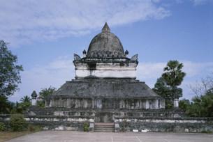 ワット・ウィスナラートの仏塔の写真素材 [FYI03982069]
