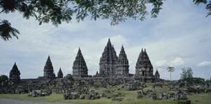 プランバナン寺院群遺跡の写真素材 [FYI03982078]