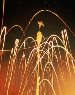 松上げ祭の写真素材 [FYI03983342]