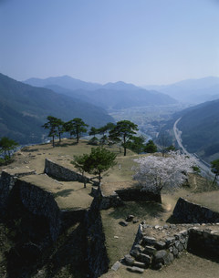 竹田城跡の写真素材 [FYI03983396]