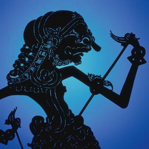 インドネシア影絵のイメージの写真素材 [FYI03983579]