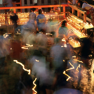 御手洗祭 下鴨神社の写真素材 [FYI03983625]
