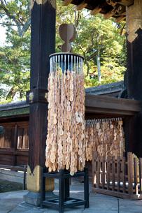 豊国神社の瓢箪型の絵馬の写真素材 [FYI03983794]